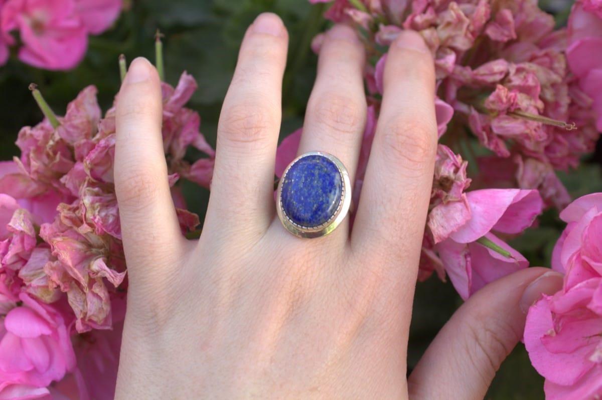 anillo plata lapislazuli 3