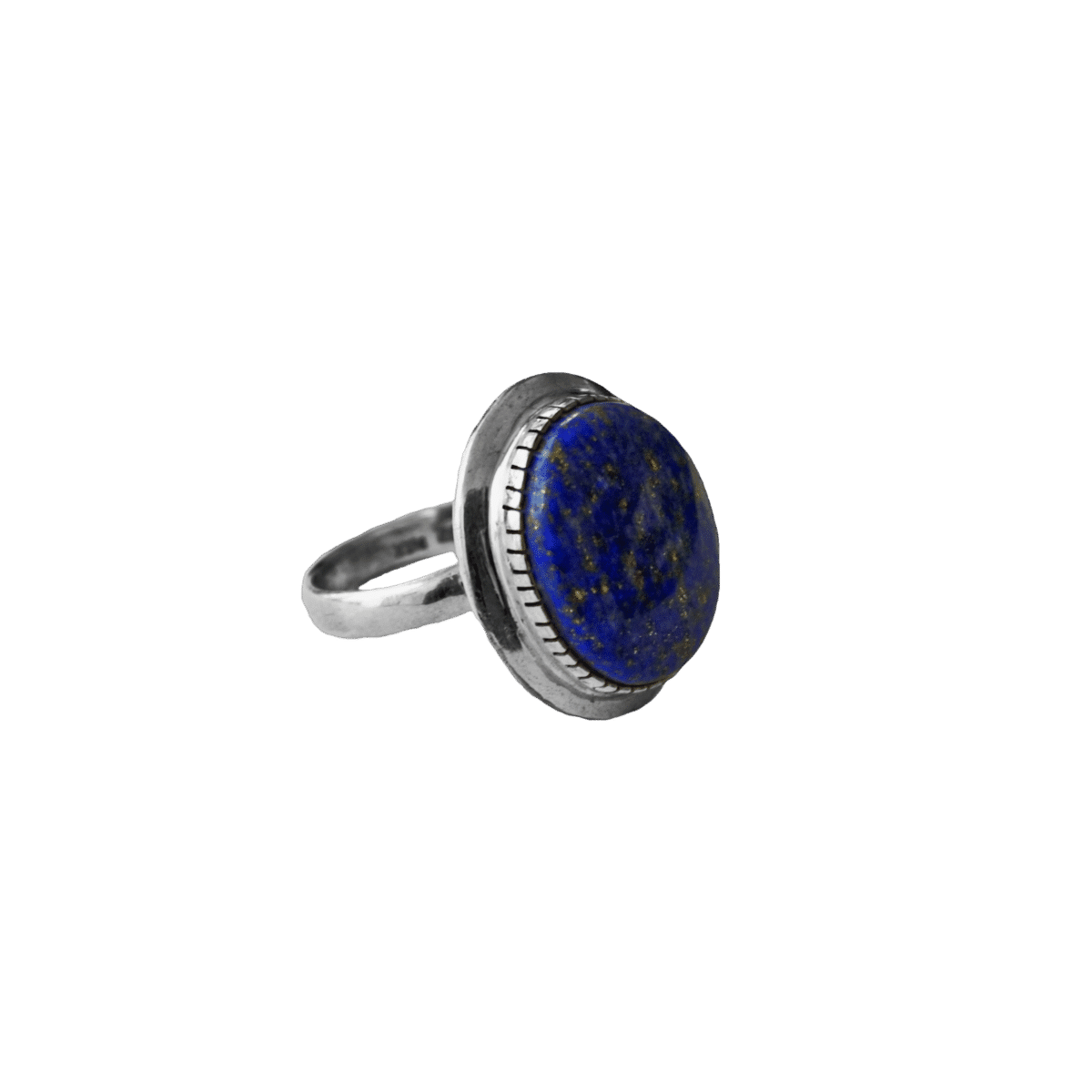 anillo plata lapislazuli oval 1