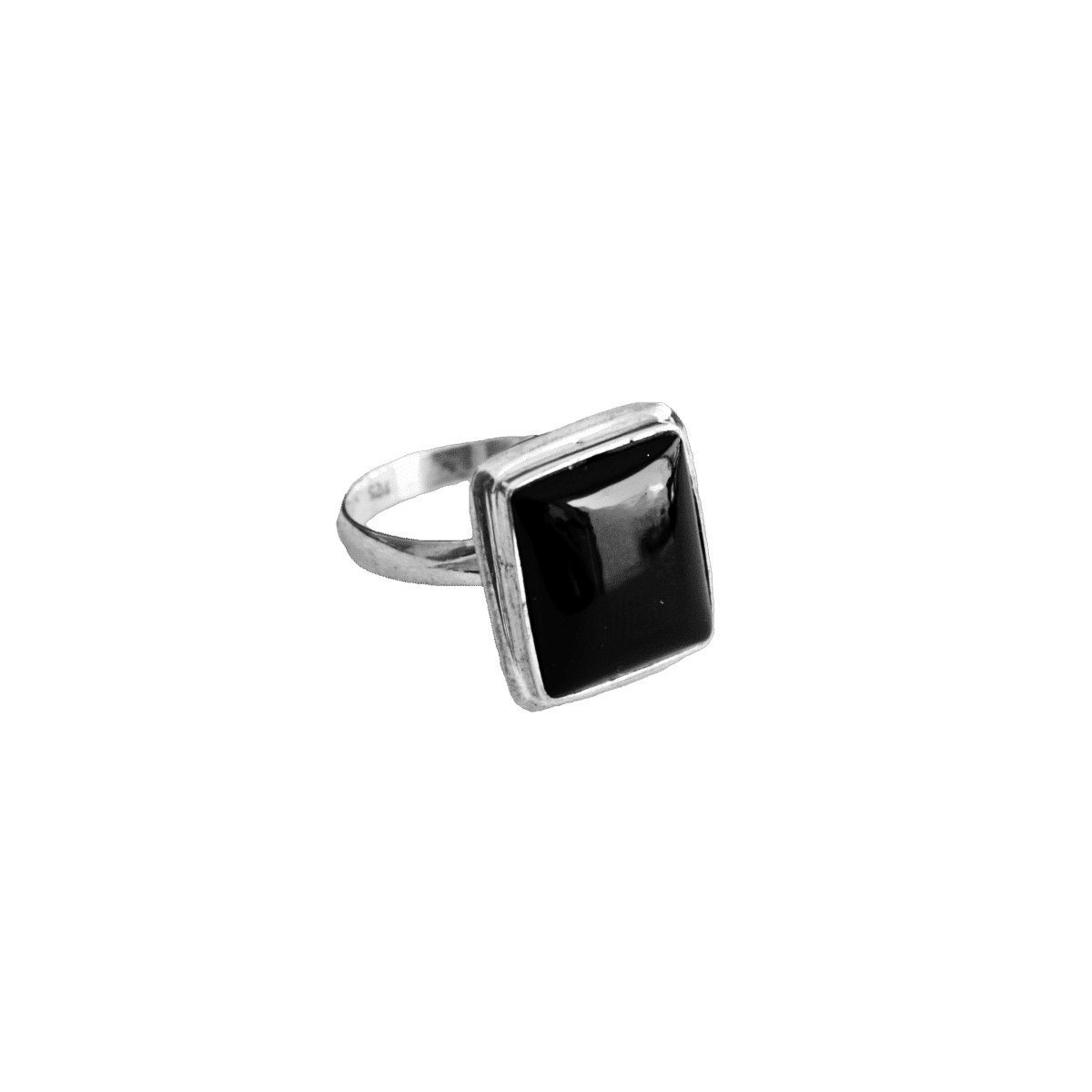 anillo plata onix negro rectangulo 1