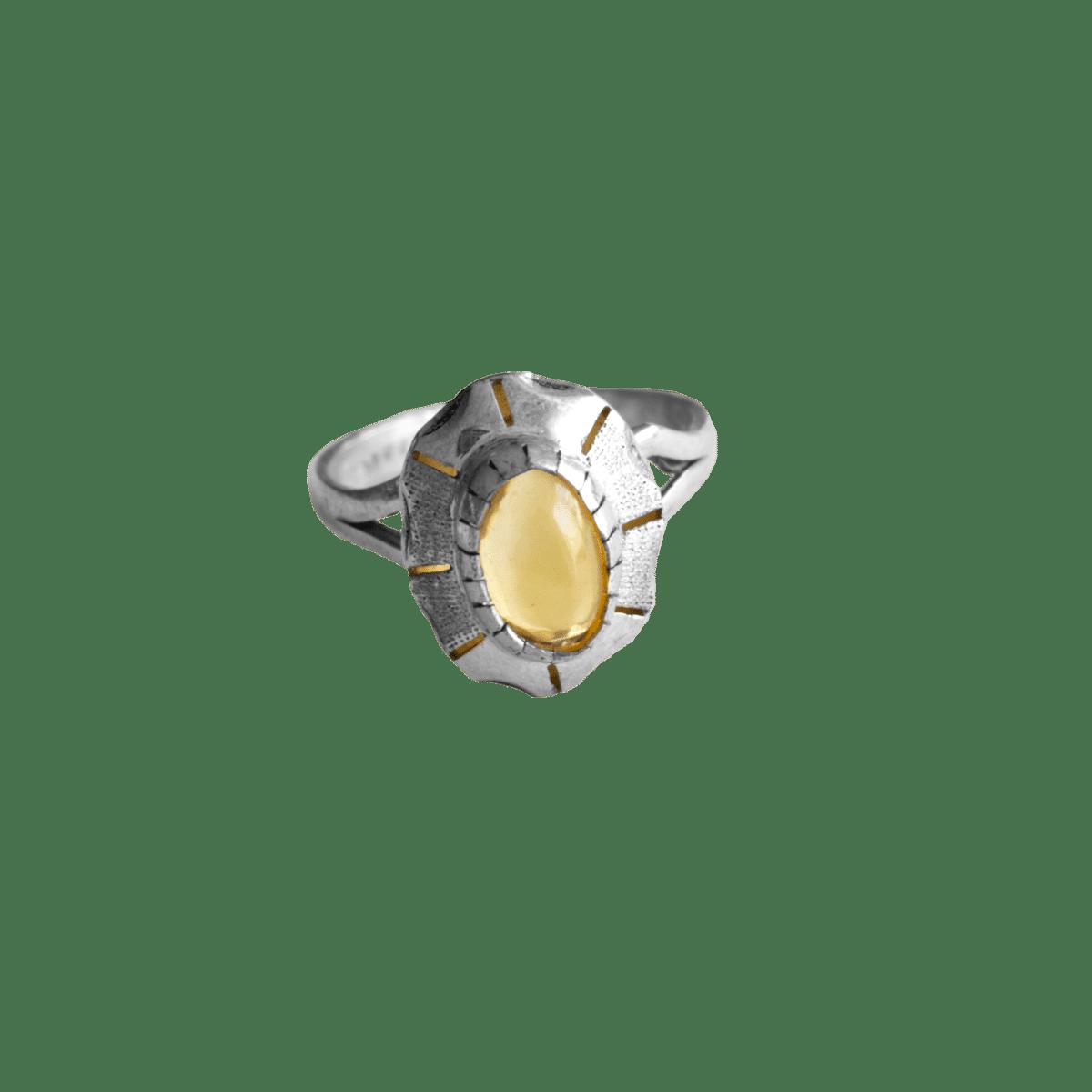 anillo plata opalo translucido 1