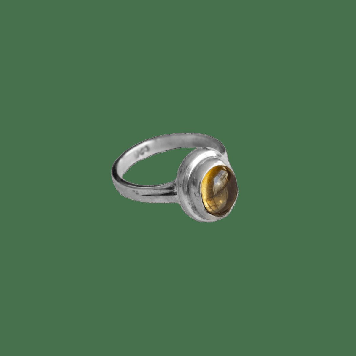 anillo plata opalo transparente 1