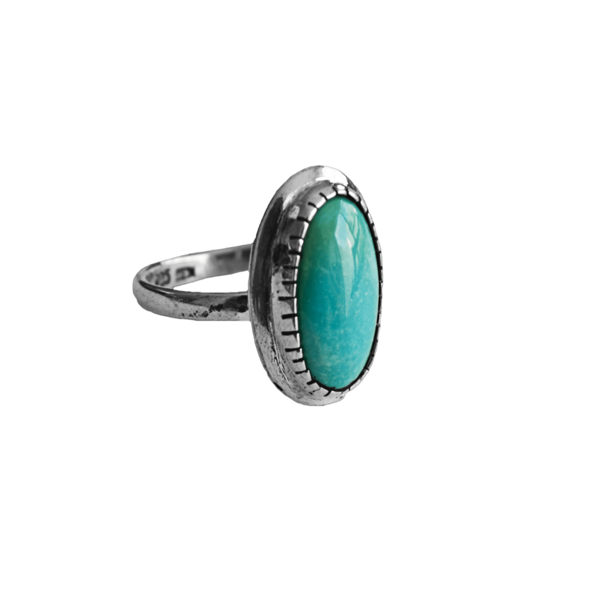 anillo plata turquesa largo 1