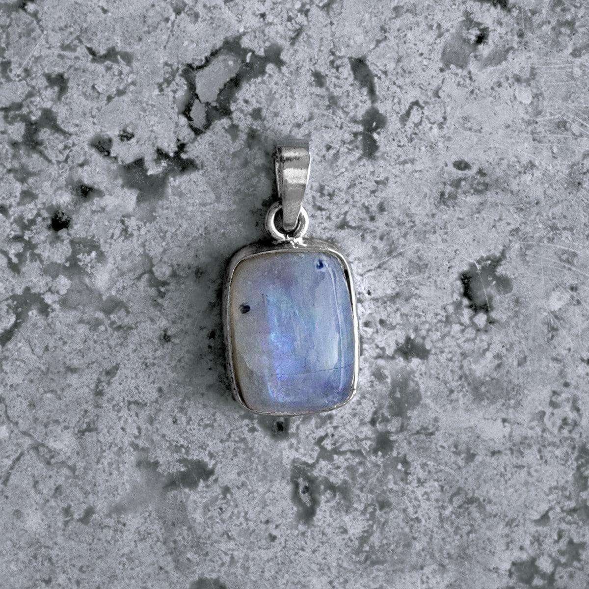 dije plata piedra luna rectangulo 2